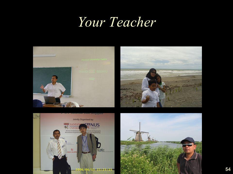 54 Your Teacher