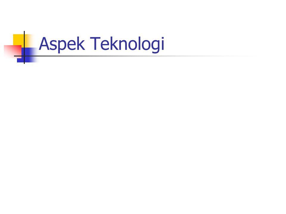 Summary Aspek legal – unregulated. Fokus – business-to-business. E-mail server untuk semua user.