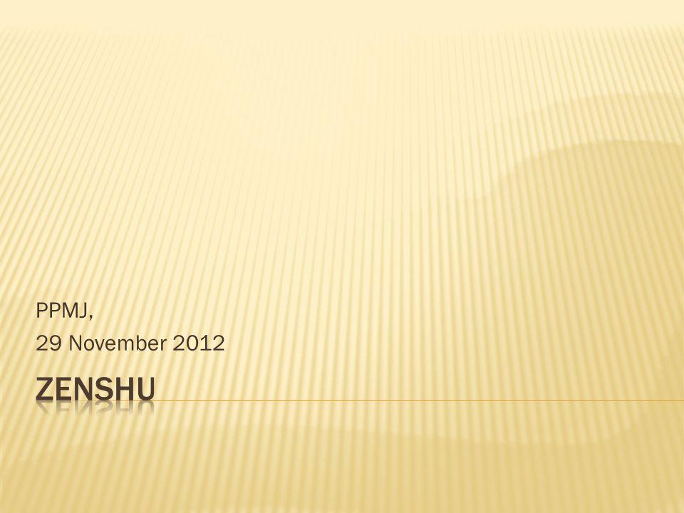 PPMJ, 29 November 2012