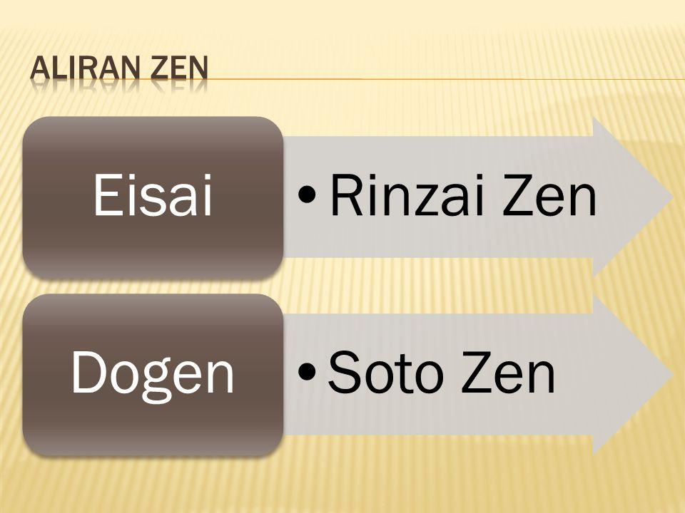 Zen menitikberatkan pada kekuatan diri sendiri, mengandalkan membantu diri sendiri , atau disebut jiriki.