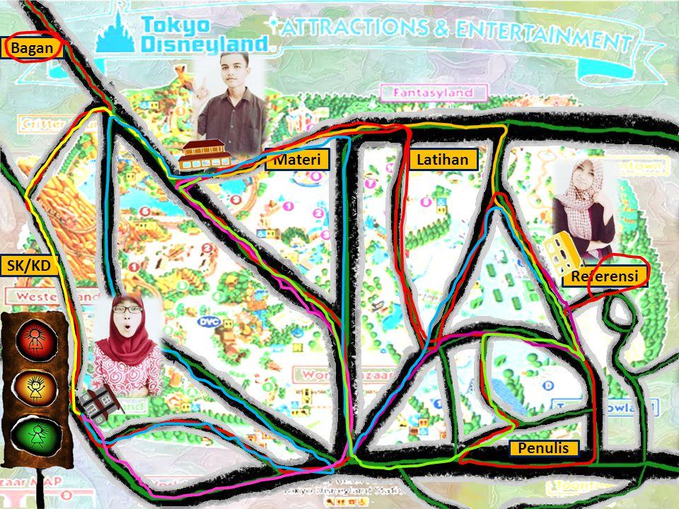 SK/KD Latihan Referensi Bagan Materi Penulis