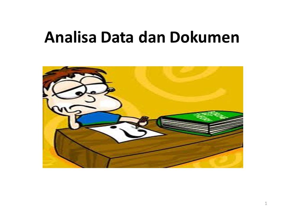 Analisa Data dan Dokumen 1