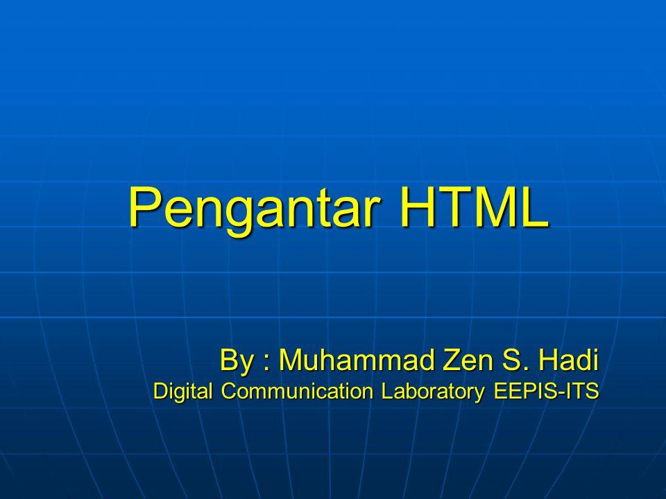 12 <head> Bagian header dari document HTML di apit oleh tag.
