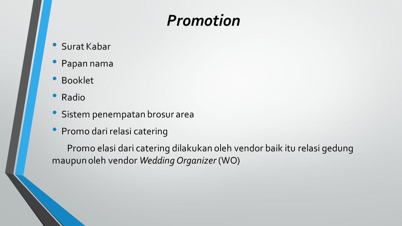 Gambaran umum perusahaan nama :Permata Catering Service Hidangan :food and beverage, mulai kuliner khas Indonesia, Western Food, Continental, bahkan Eastern Food.