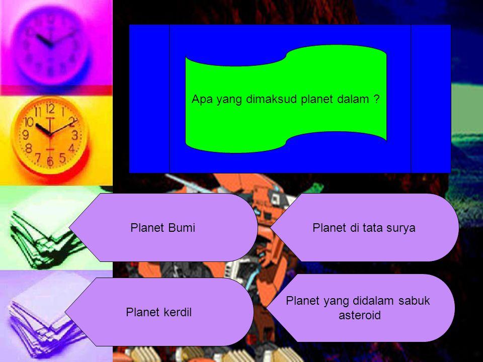 Apa yang dimaksud planet dalam .