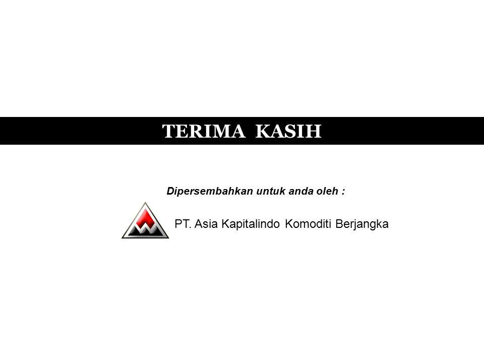 TERIMA KASIH Dipersembahkan untuk anda oleh : PT. Asia Kapitalindo Komoditi Berjangka