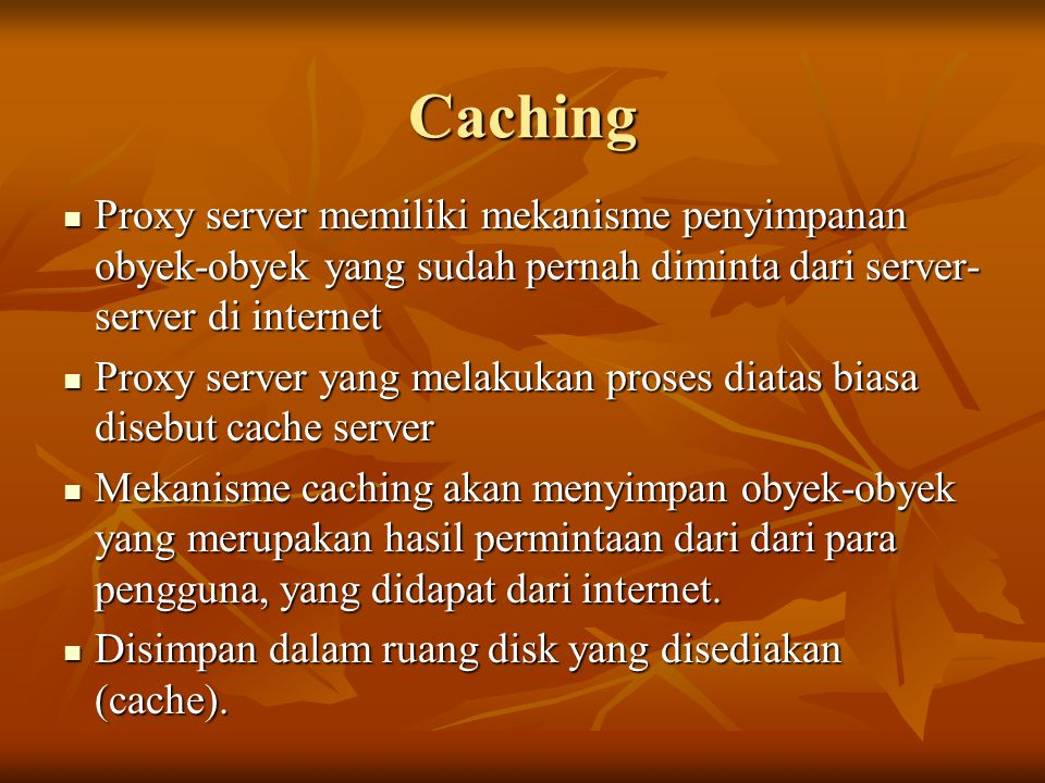 Access Filtering menggunakan ACL ACL : access control list ACL : access control list Format umum : Format umum : acl aclname acltype string1...