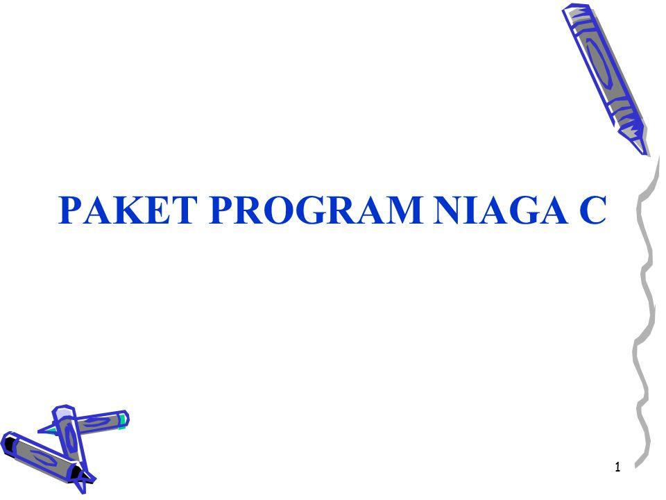 1 PAKET PROGRAM NIAGA C