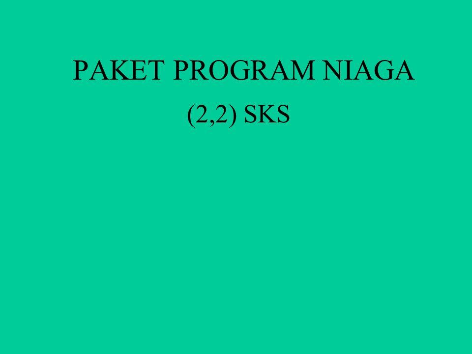 MATA KULIAH PAKET PROGRAM NIAGA DOSEN ENDANG SETYAWATI M.KOM SEKOLAH TINGGI MANAJEMEN INFORMATIKA DAN KOMPUTER WIDYA UTAMA PURWOKERTO 2010/2011