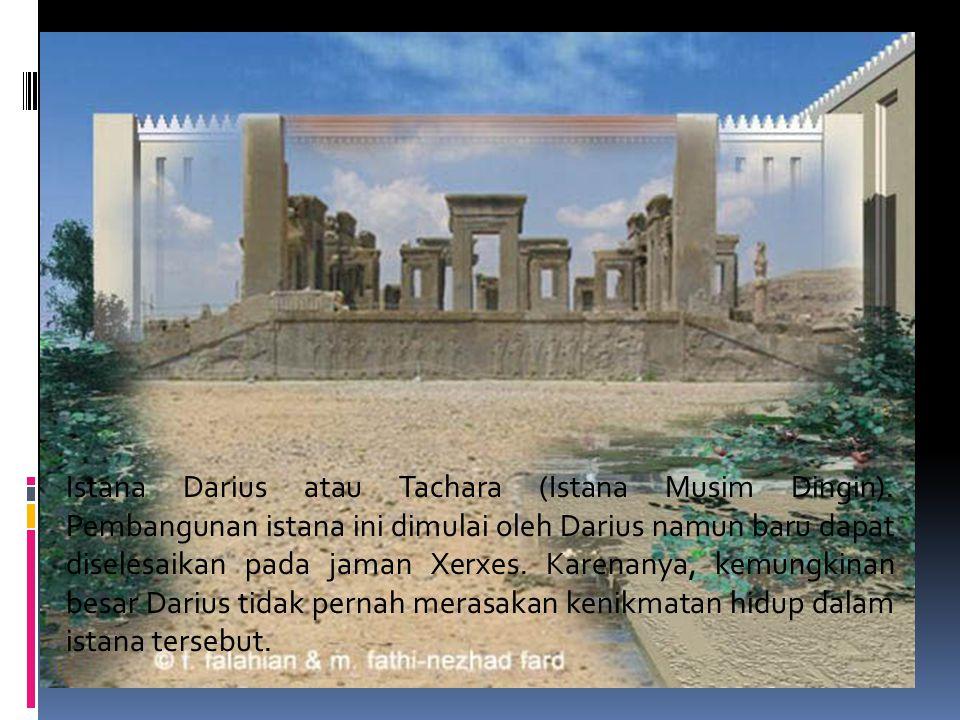 Tachara palace Istana Darius atau Tachara (Istana Musim Dingin).