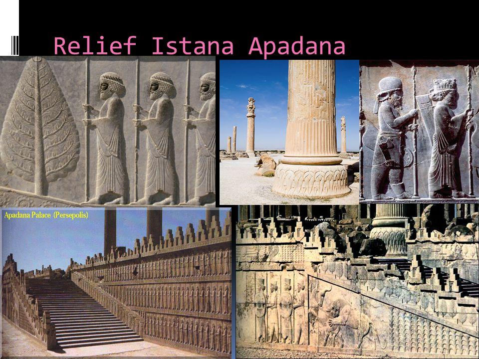 Relief Istana Apadana