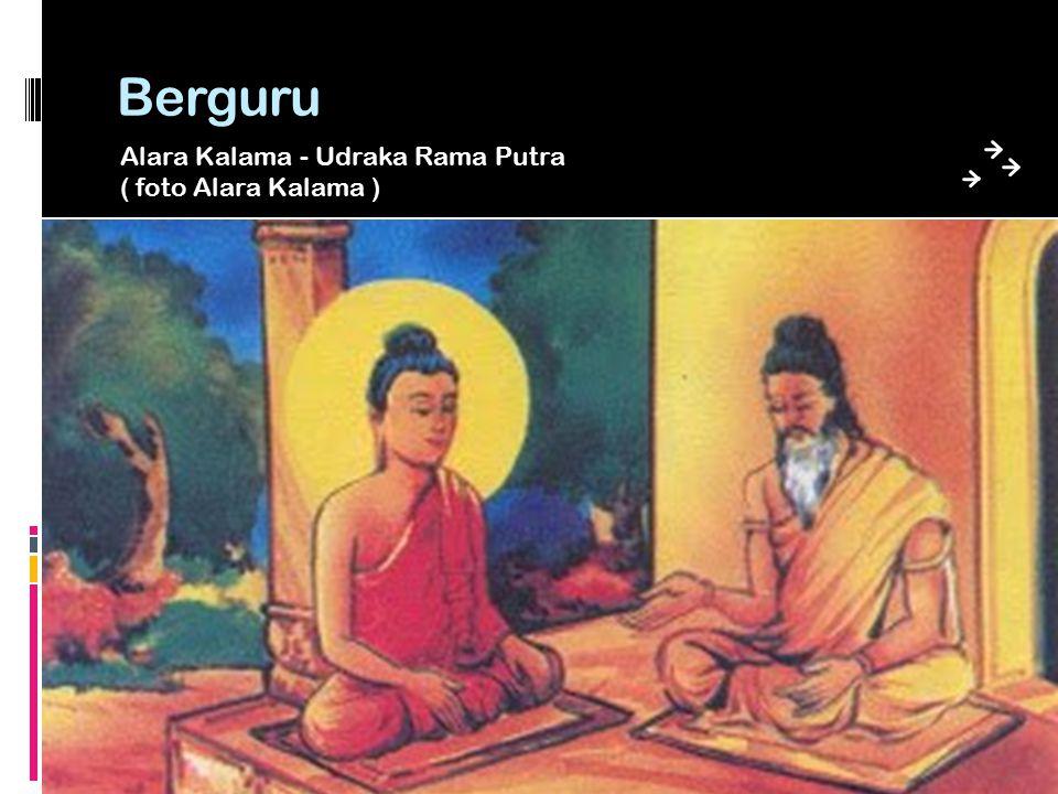 Berguru Alara Kalama - Udraka Rama Putra ( foto Alara Kalama )