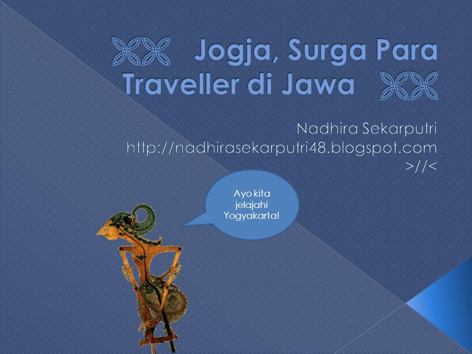 Ayo kita jelajahi Yogyakarta!