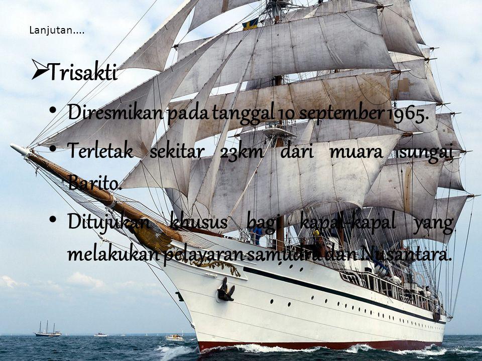 Aktivitas Pelayaran Terdapat 3 jenis pelayaran, yaitu: Pelayaran dalam negeri (domestik).