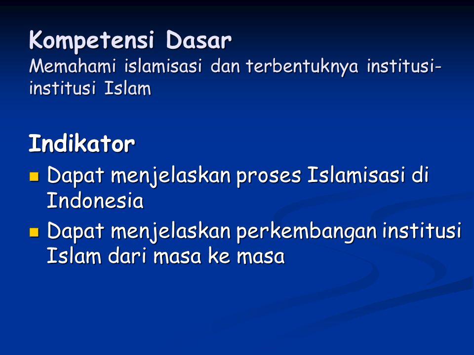 Faktor-faktor yang mempercepat proses peyebaran Islam di Nusantara Karena Ajaran islam melaksanakan prinsip ketauhidan Islam tidak terdapat kasta.
