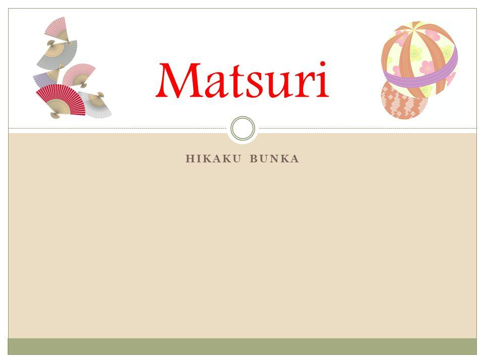 HIKAKU BUNKA Matsuri