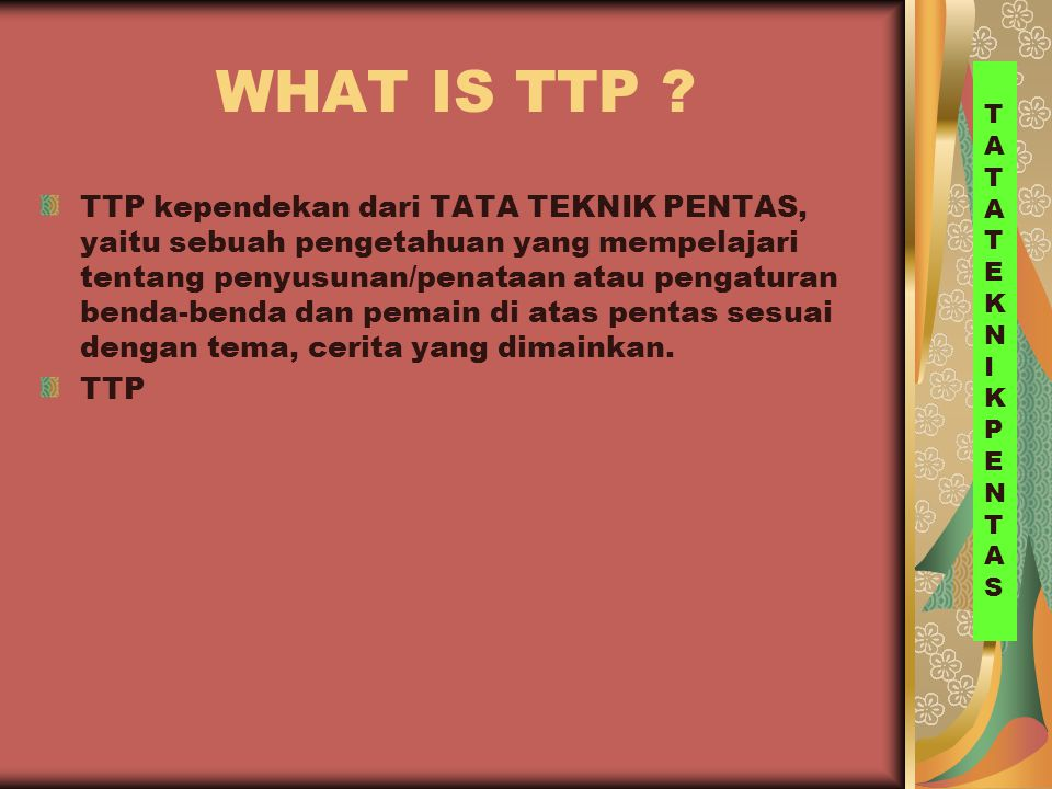 WHAT IS TTP .