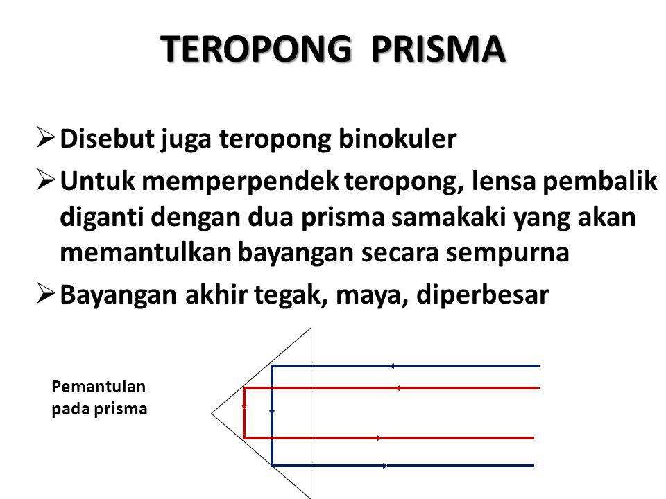 TEROPONG PRISMA