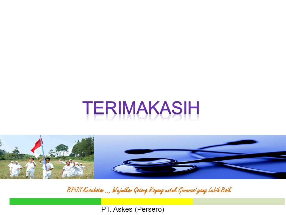 BPJS Kesehatan.., Wujudkan Gotong Royong untuk Generasi yang Lebih Baik PT. Askes (Persero)