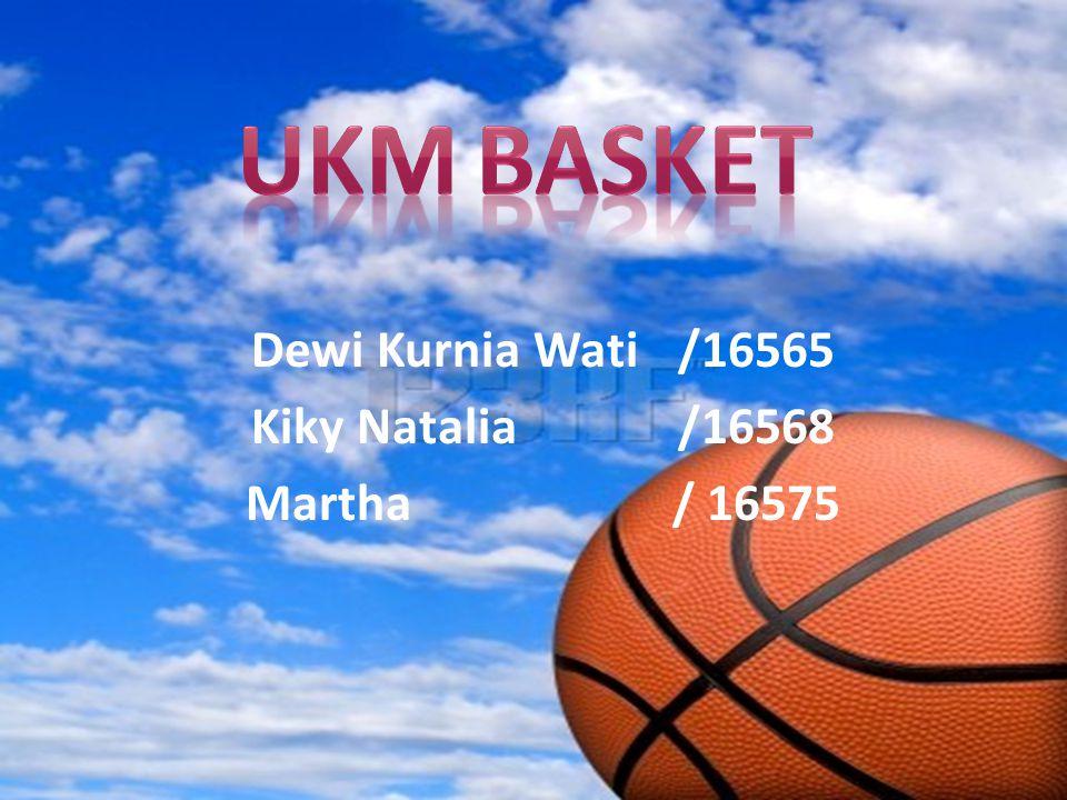 Dewi Kurnia Wati /16565 Kiky Natalia /16568 Martha/ 16575