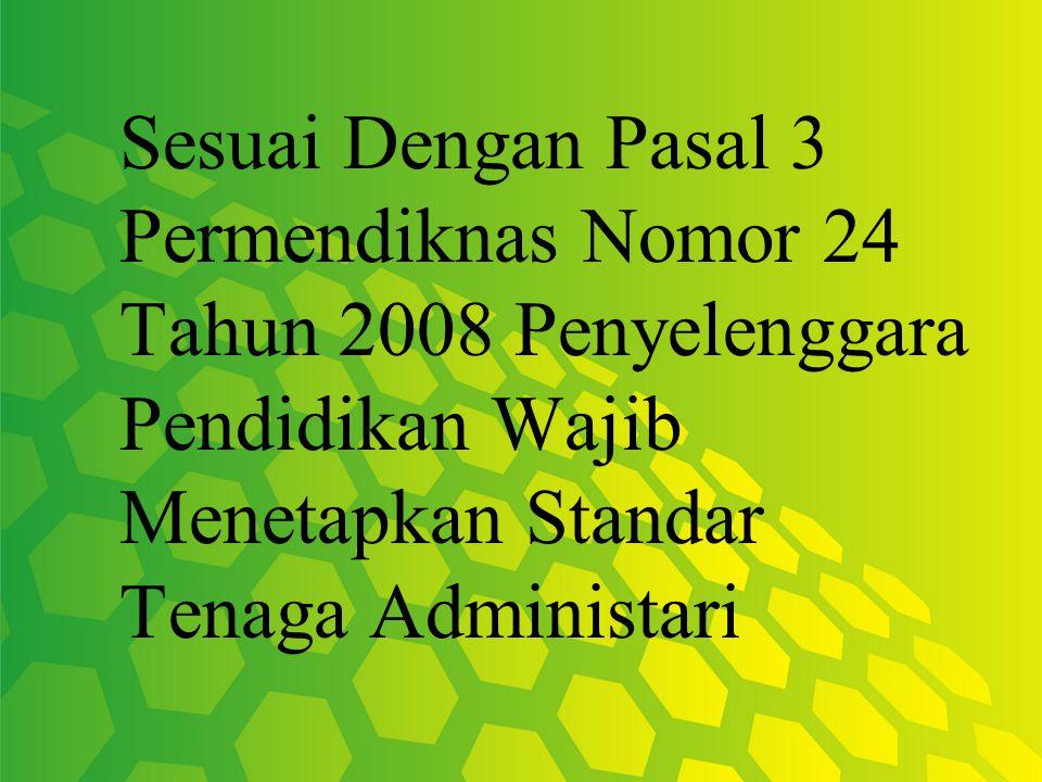 Tenaga Administarsi Madrasah maupun Pondok Pesantren Terdiri Kepala Ponpes, Pelaksana Urusan dan Pelaksana Layanan.