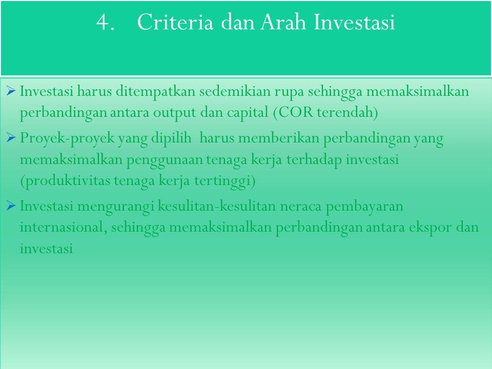 3.Akumulasi Capital Akumulasi capital dapat berujud kenaikan dalam volume tabungan riil sehingga sumber-sumber uang yang semula untuk tujuan konsumtif >produktif.