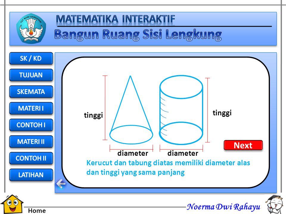 Noerma Dwi Rahayu Home Simulasi Volume Bangun Ruang Kerucut Lihat