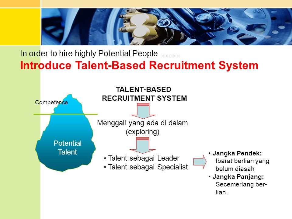 In order to hire highly Potential People ……..