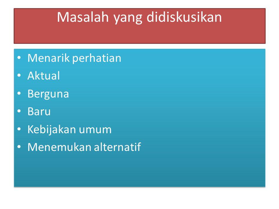 Topik diskusi 1.Benarkah mempelajari bahasa Indonesia itu sulit.