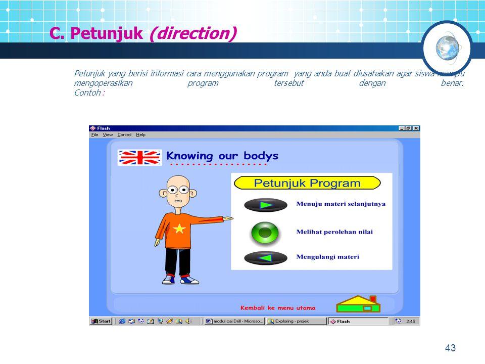 44 2.PENYAJIAN INFORMASI (Presentation Of Information) A.