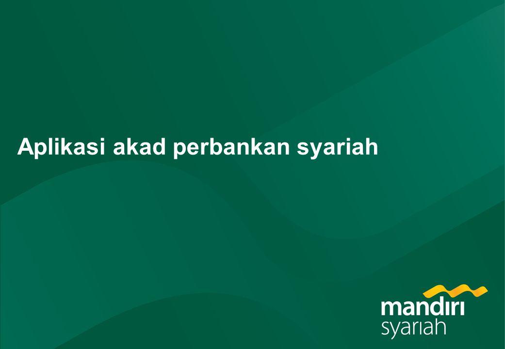 Aplikasi akad perbankan syariah