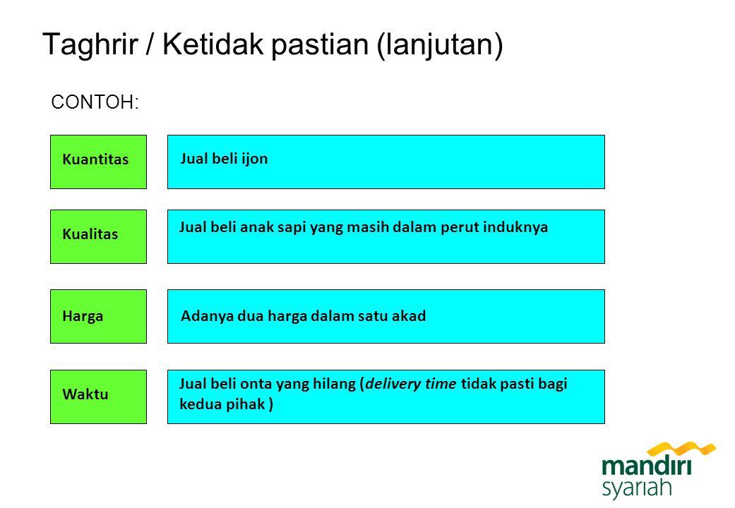 Kepemilikan Nama: PT Bank Syariah Mandiri Pemegang Saham: PT Bank Mandiri Tbk (99,999999%)*; PT Mandiri Sekuritas (0,000001%).