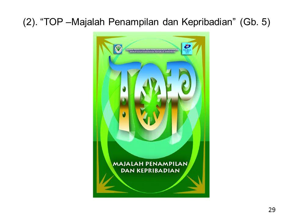 (2). TOP –Majalah Penampilan dan Kepribadian (Gb. 5). 29