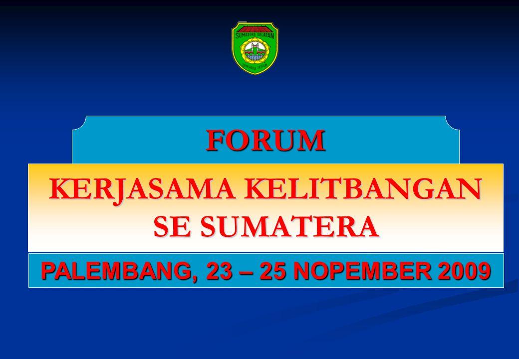 FOKUS KAJIAN * Kajian tentang Promosi Bersama Provinsi se Sumatera, Kepulauan Riau, dan Bangka Belitung.