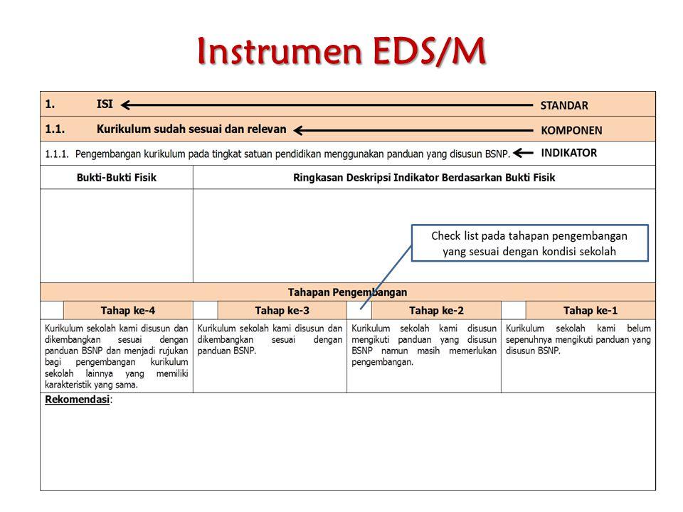Instrumen EDS/M