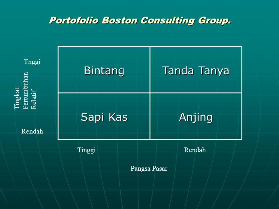 Portofolio Boston Consulting Group.