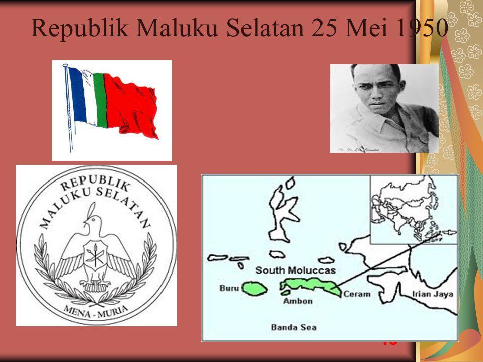 Republik Maluku Selatan 25 Mei 1950 18