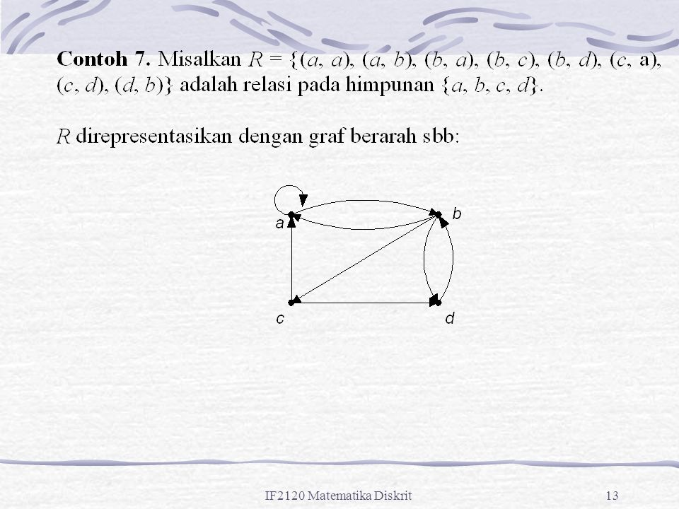 IF2120 Matematika Diskrit13