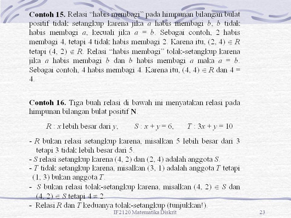 IF2120 Matematika Diskrit23