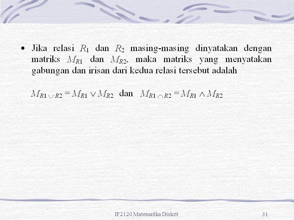 IF2120 Matematika Diskrit31