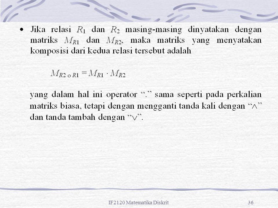 IF2120 Matematika Diskrit36
