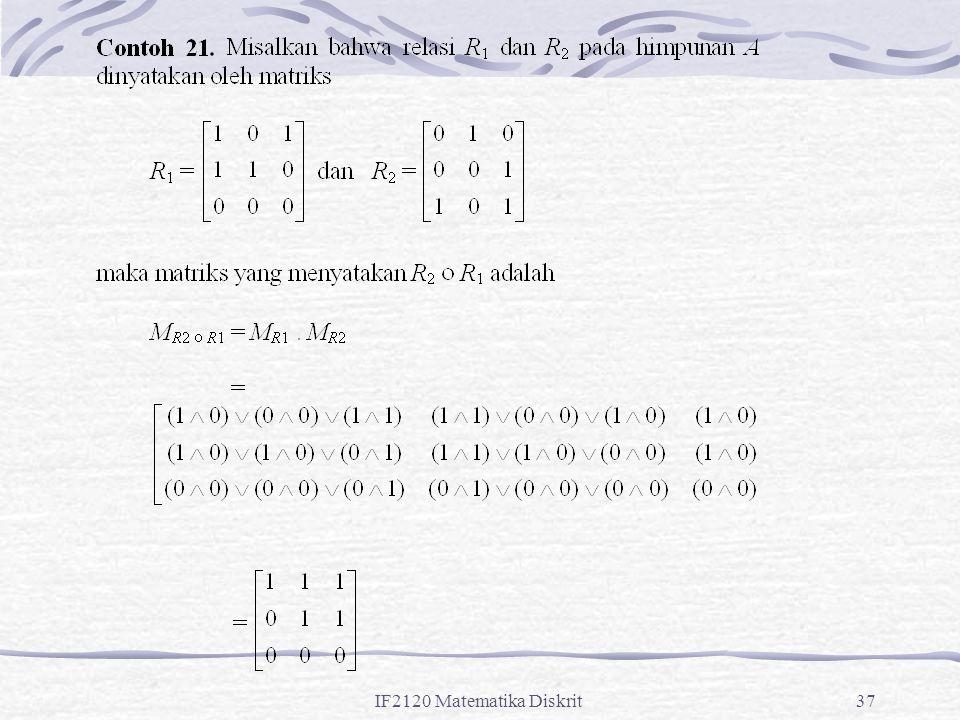 IF2120 Matematika Diskrit37