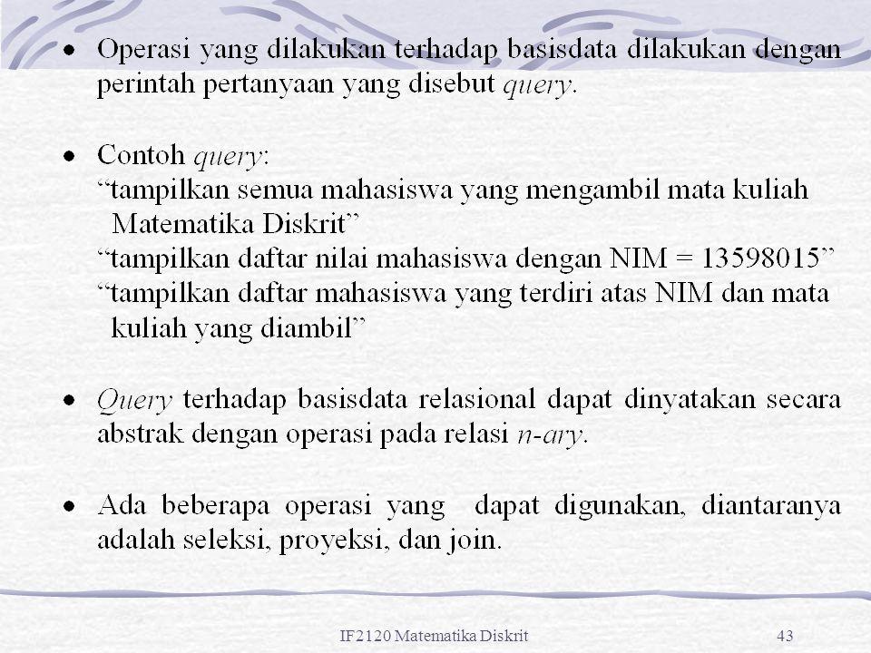 IF2120 Matematika Diskrit43