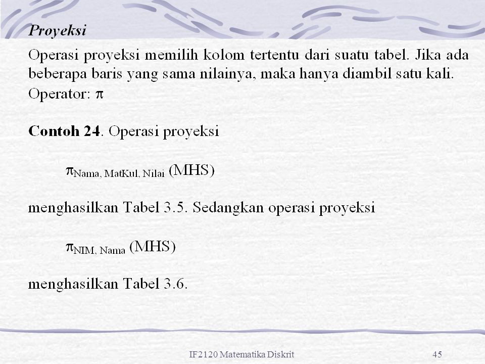 IF2120 Matematika Diskrit45
