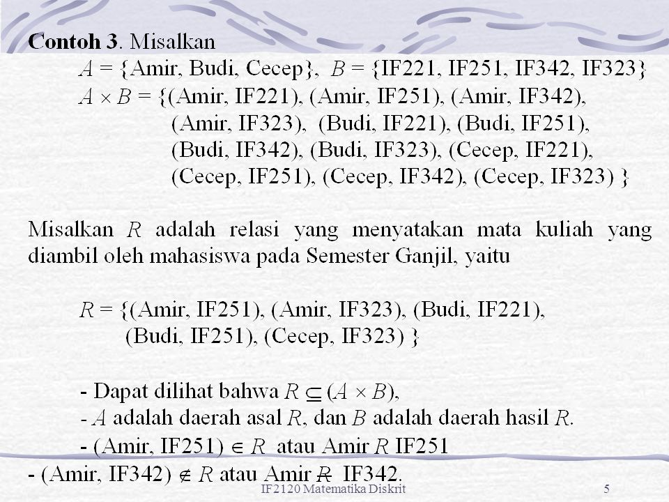 IF2120 Matematika Diskrit26
