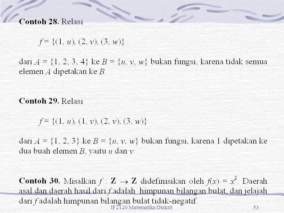 IF2120 Matematika Diskrit53