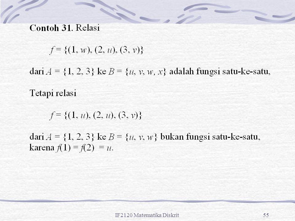 IF2120 Matematika Diskrit55