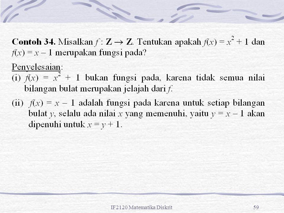IF2120 Matematika Diskrit59