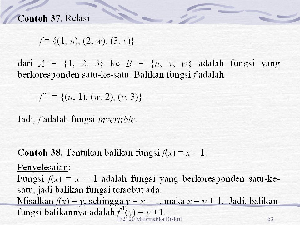 IF2120 Matematika Diskrit63