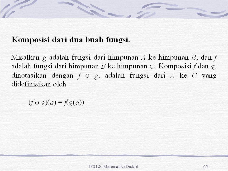 IF2120 Matematika Diskrit65